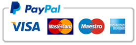 Paypal & Card payments accepted